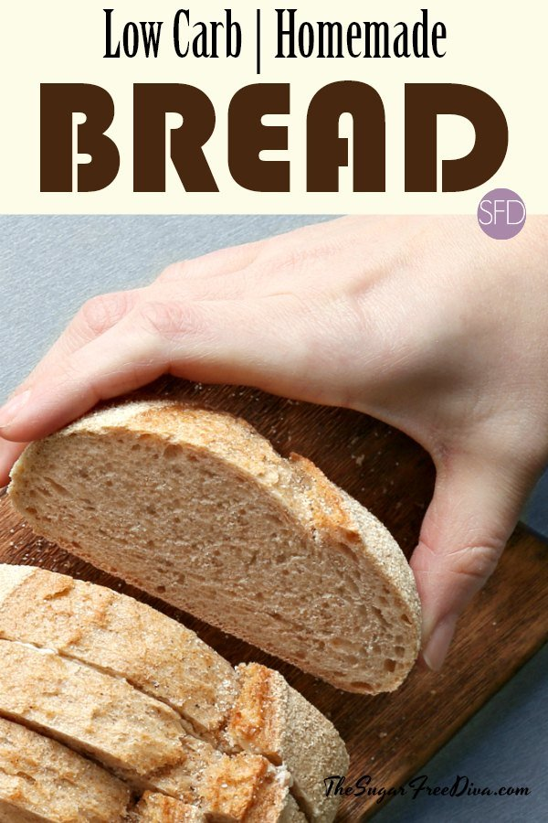 This Is The Recipe For How To Make Homemade Low Carb Bread