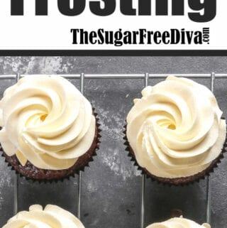 Sugar Free Buttercream Frosting