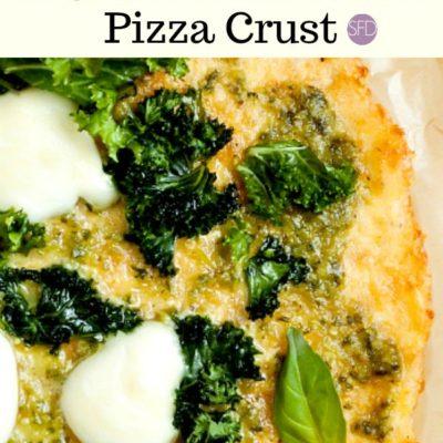 4 Ingredient Cauliflower Pizza Crust