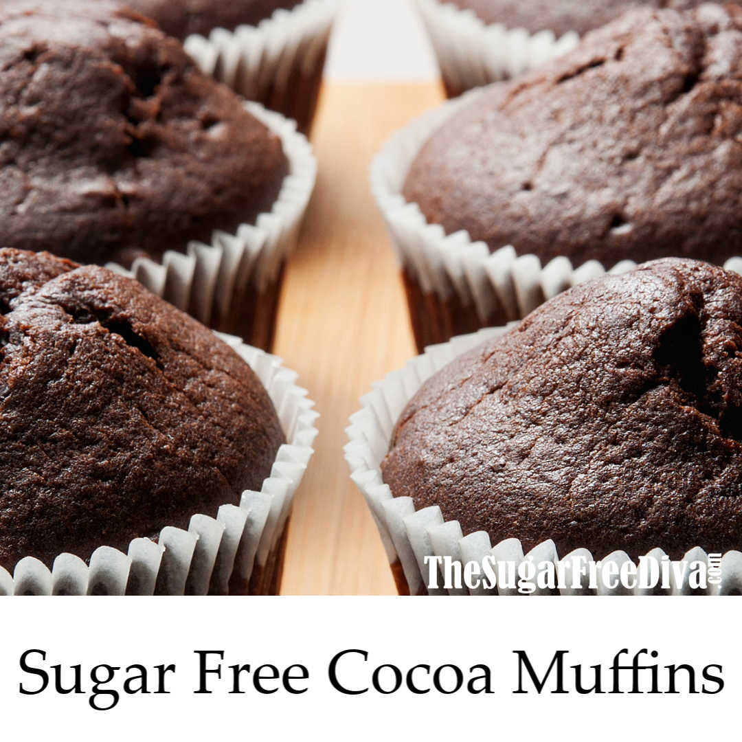 Delicious And Easy Sugar Free Cocoa Muffins Recipe