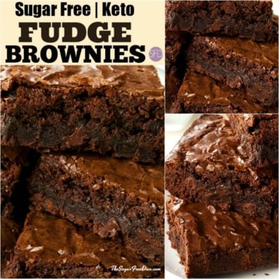 Keto Sugar Free Brownies