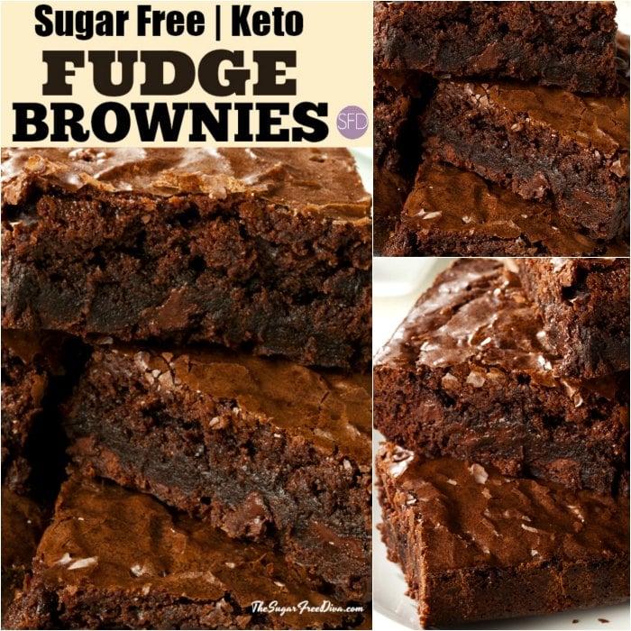 Keto Sugar Free Brownies