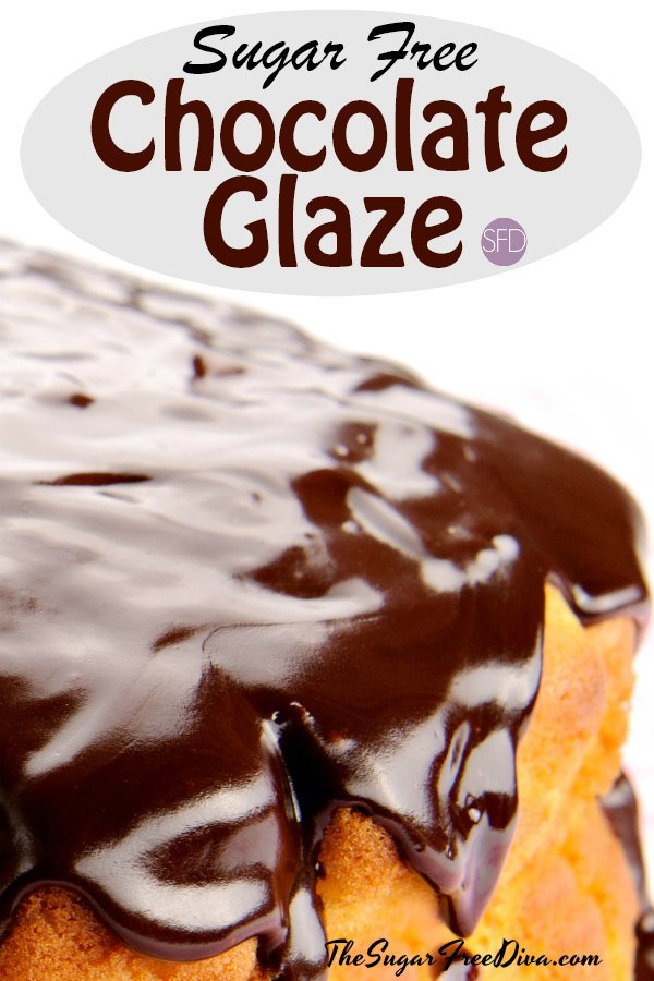 This Is How To Make Your Own Sugar Free Chocolate Glaze