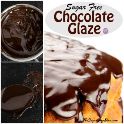 Sugar Free Chocolate Glaze