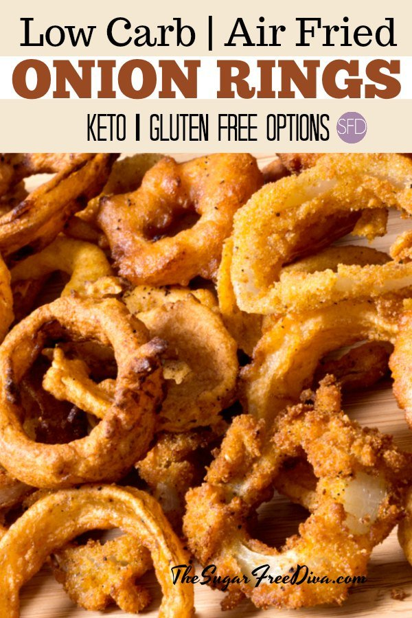 Really Easy And Yummy Low Carb Air Fried Onion Rings