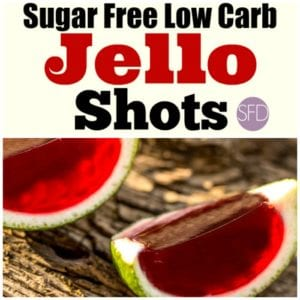 Sugar Free Low Carb Jello Shots