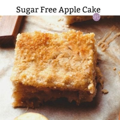 No Sugar Added Apple Cake