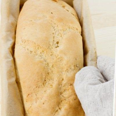 baked loaf bread