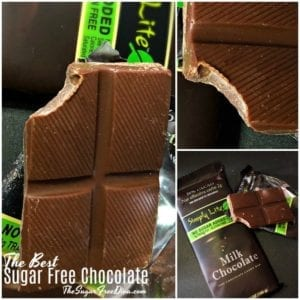 The Best Sugar Free Chocolate Candy Bars