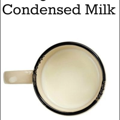 How to make Sugar Free Condensed Milk