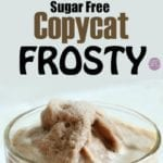 Sugar Free Copycat Frosty Recipe