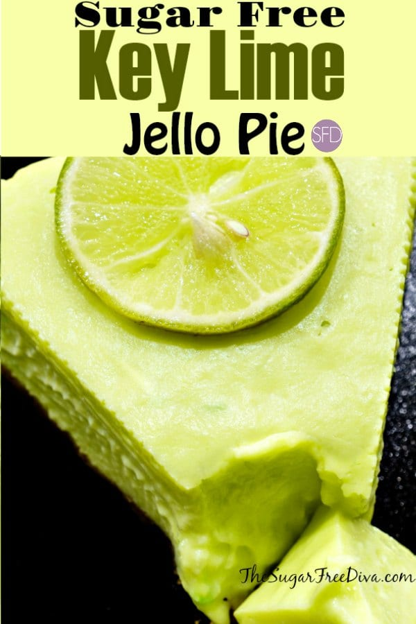 Sugar Free Key Lime Jello Pie
