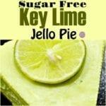 Sugar Free Key Lime Jello Pie