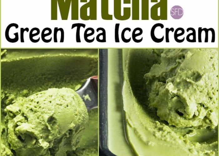 Sugar Free Matcha Green Tea Ice Cream