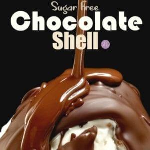 Sugar Free Chocolate Hard Shell Topping