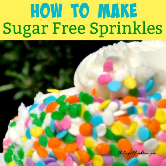 How to Make Sugar Free Sprinkles