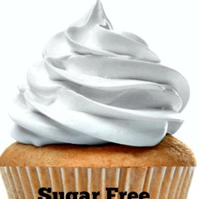 Sugar Free White Chocolate Frosting