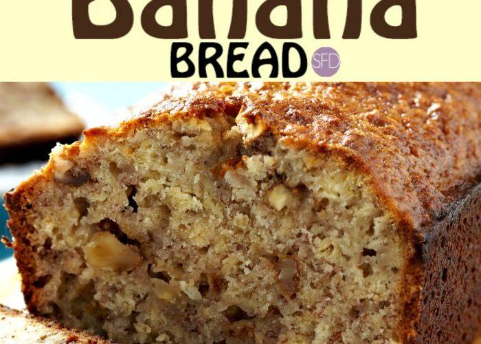 Sugar Free Banana Bread