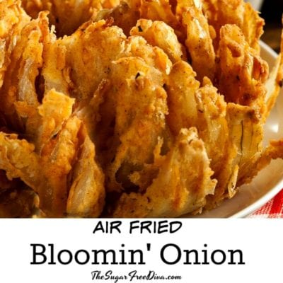 Air Fried Bloomin' Onion