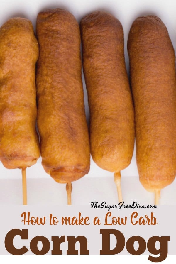 How to Make a Low Carb Corn Dog