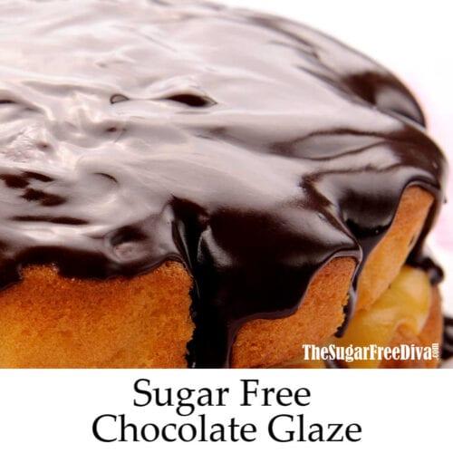Sugar Free Chocolate Glaze