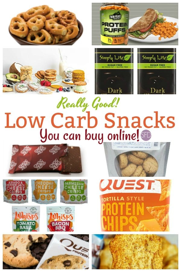 Low Carb Snacks You Can Find Online