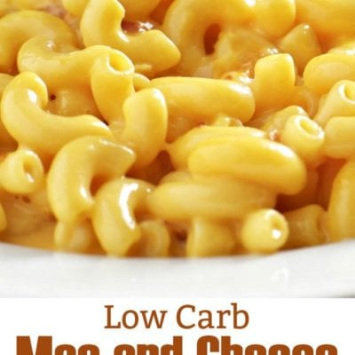 Low Carb Mac and Cheese Made with Beer