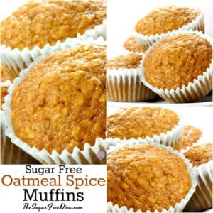 Oatmeal Spice Muffins
