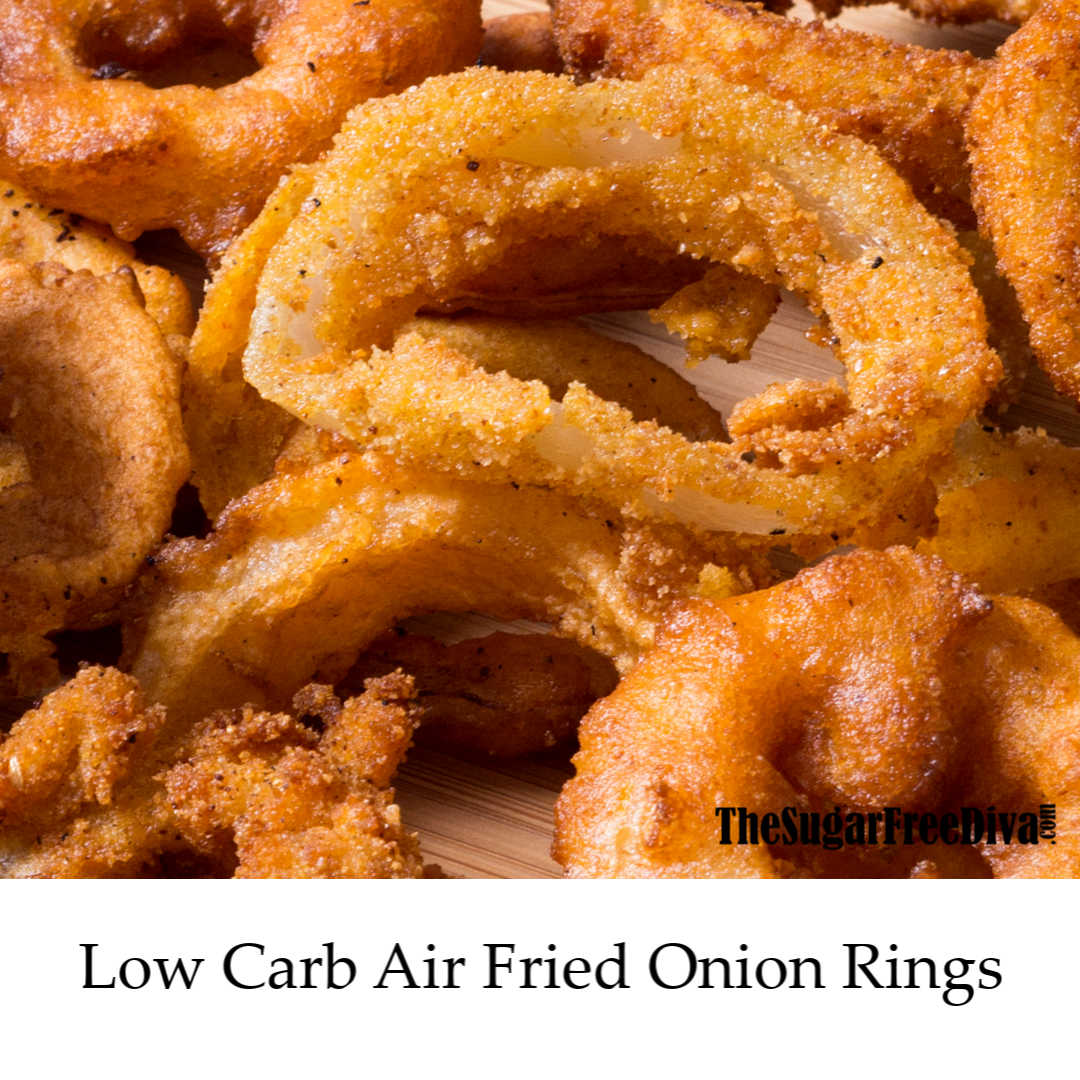 Low Carb Air Fried Onion Rings