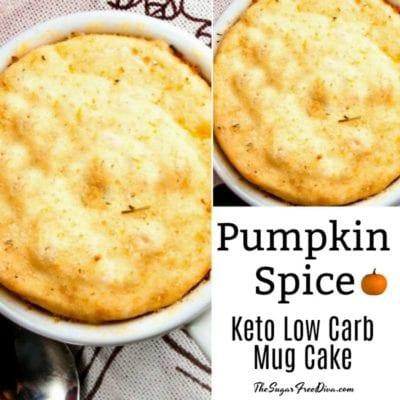 Pumpkin Spice Keto Low Carb Cake