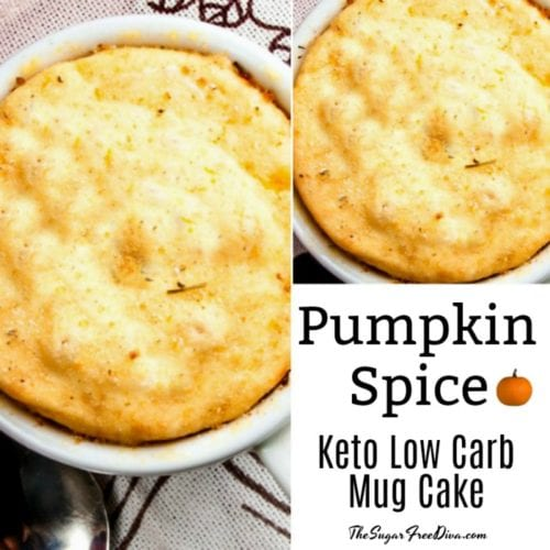 Pumpkin Spice Keto Low Carb Cake