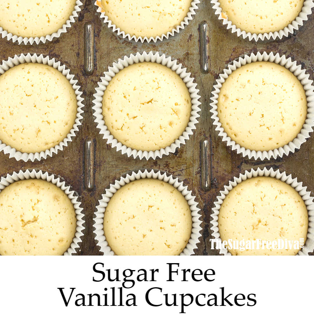 This is the recipe for how to make Sugar Free Vanilla Cupcakes