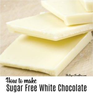 Sugar Free White Chocolate
