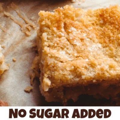No Sugar Added Apple Cake