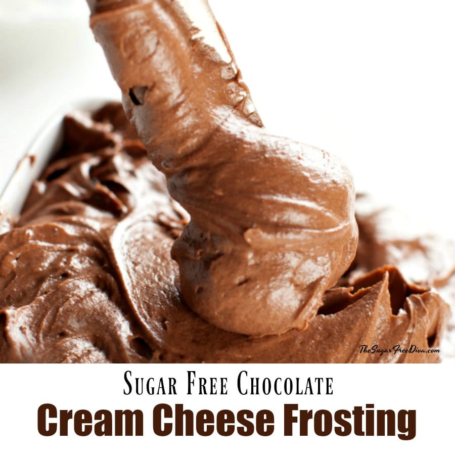 Sugar Free Chocolate Cream Cheese Frosting