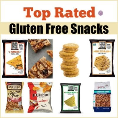 Top Rated Gluten Free Snacks
