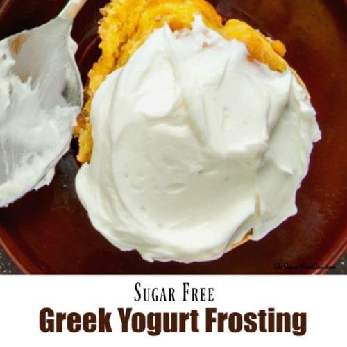 Sugar Free Greek Yogurt Frosting