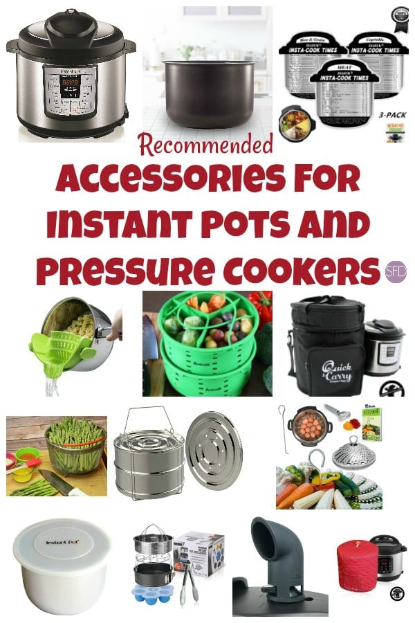Accessories for your Instant Pots and Pressure Cookers