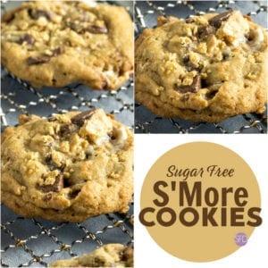 Sugar Free SMore Cookies