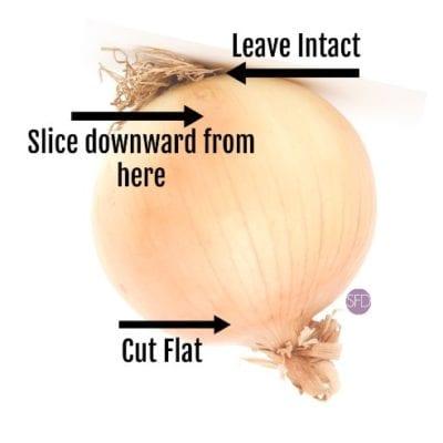 prepared onion