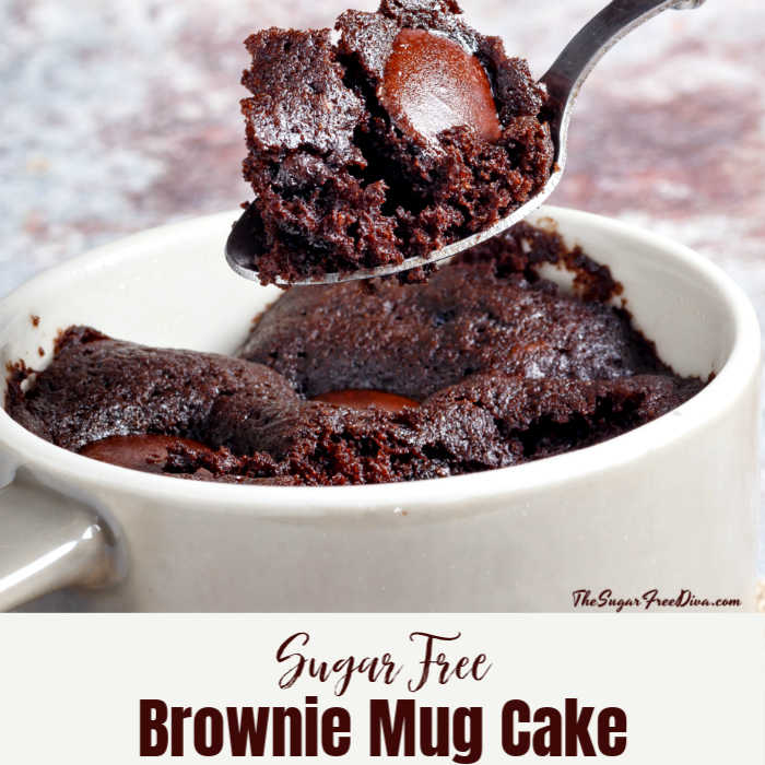 Sugar Free Brownie Mug Cake