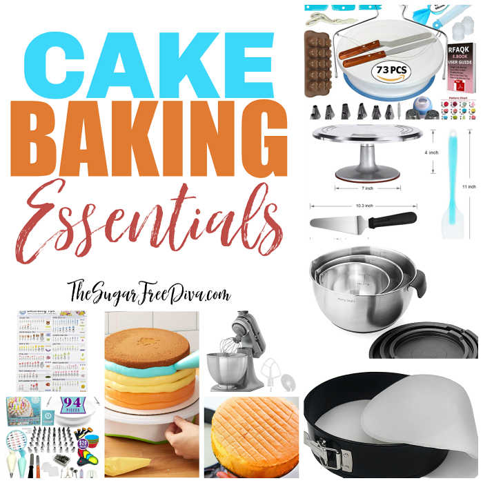 Cake Baking Essentials That You MayNeed