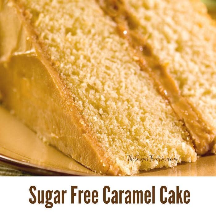 Sugar Free Caramel Cake
