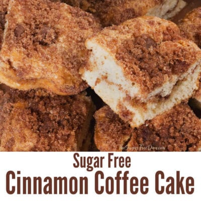Sugar Free Cinnamon Coffee Cake