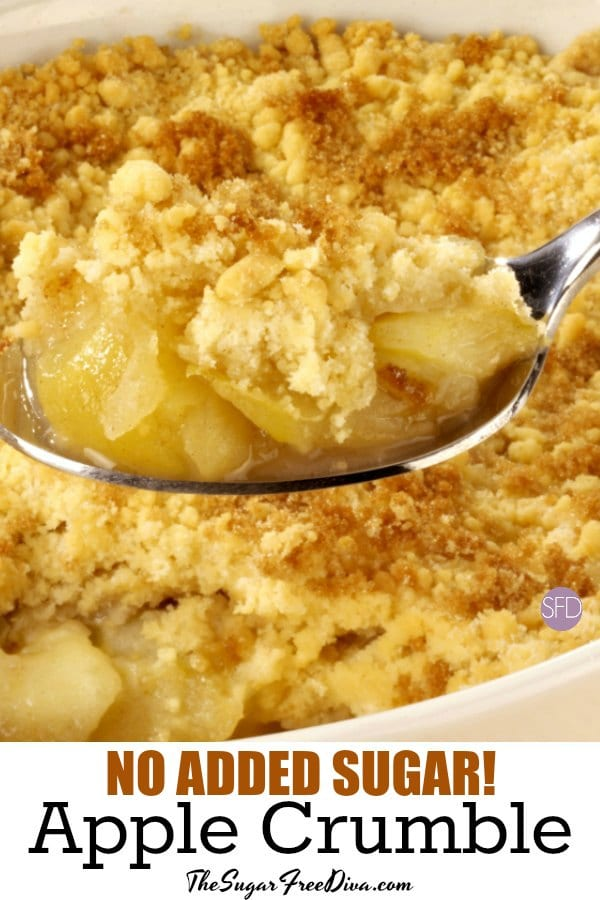No Added Sugar Apple Crumble The Sugar Free Diva How To Make