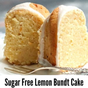 Sugar Free Lemon Bundt Cake
