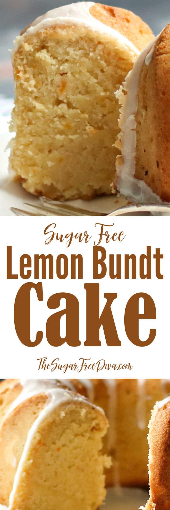 Sugar Free Lemon Bundt Cake