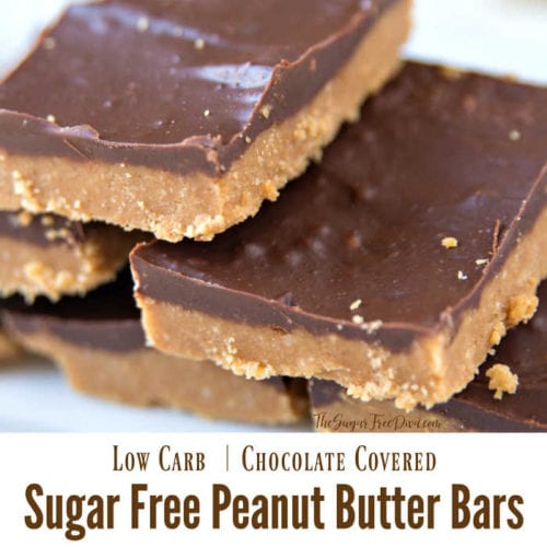Sugar Free Peanut Butter Bars