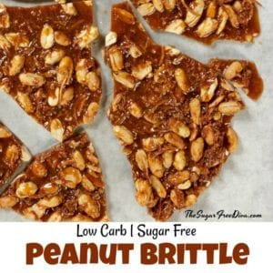 How to Make Low Carb Peanut Brittle