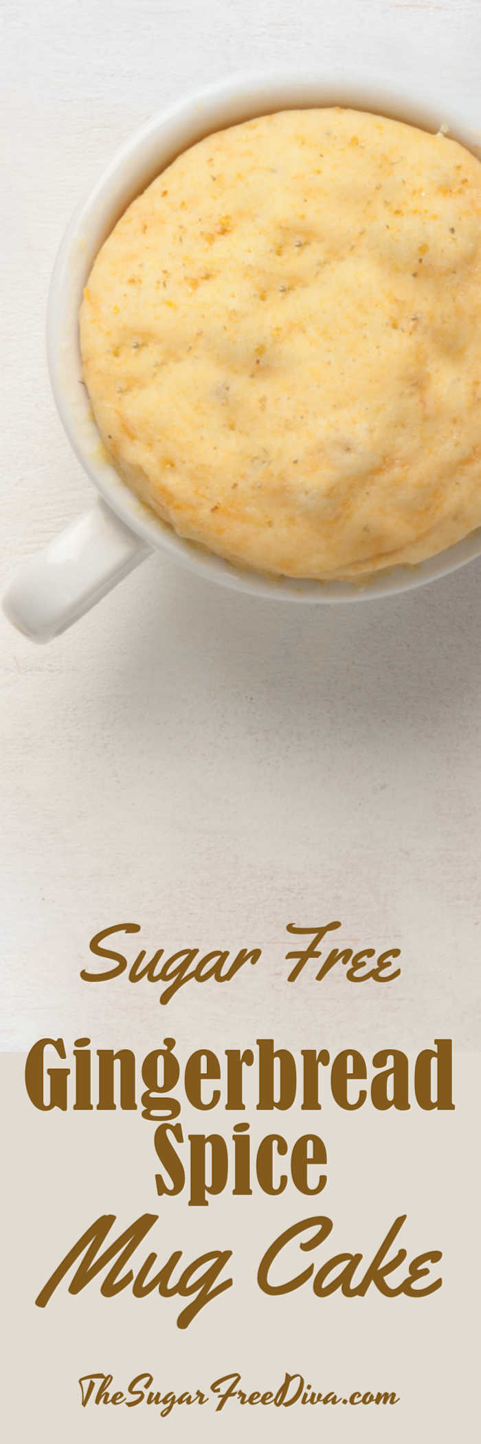 Gingerbread Spice Keto Low Carb Mug Cake
